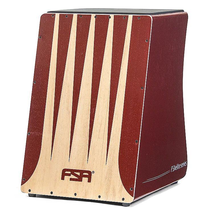 FSA  Handmade Electro Acoustic Cajon - Elite Series - FE3303 2016 Natural