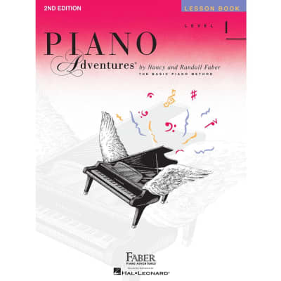 Piano Adventures: The Basic Piano Method - Lesson Book Level 1 (2nd Edition)