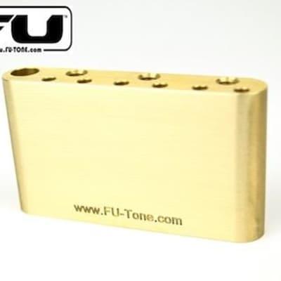 FU-Tone Brass BIG Block for PRS SE Tremolo Upgrade