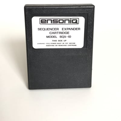 Ensoniq Esq-1 Sqx-10 Sequencer Expander Cartridge - 10 000 Notes