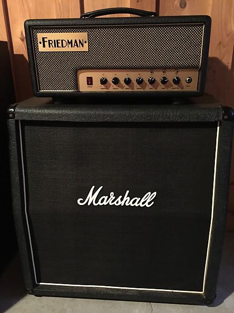 Marshall 1965A - 4x10 Slant speaker cabinet | Reverb