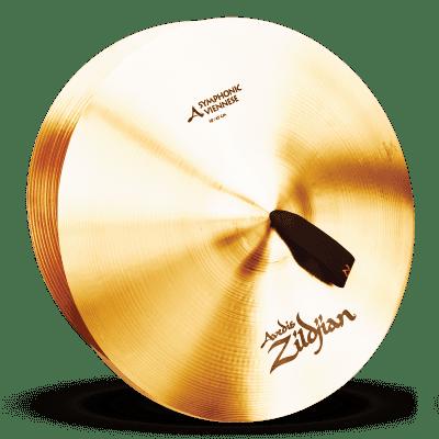 "Zildjian 18"" A Series Symphonic Viennese Tone Cymbals (Pair)"