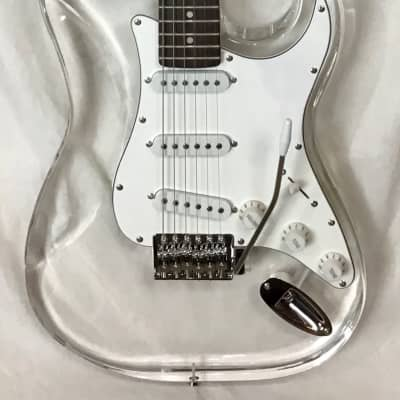 Ktone Lucite Stratocaster for sale