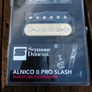 Seymour Duncan Slash APH-2s Zebra / Reverse Zebra Alnico II Pro Bridge/Neck Set