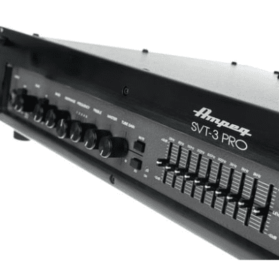 Ampeg SVT3PRO | 450W Bass Head with Multi-Stage Tube Pre Section. Brand New!