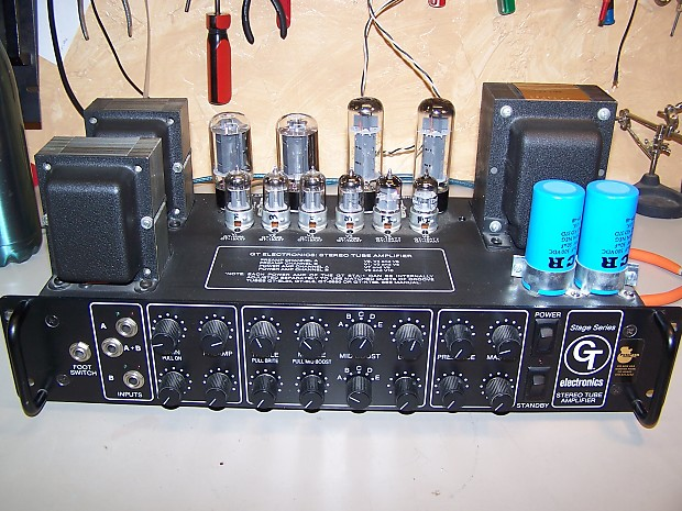 Groove Tubes Stage Series STA-1 Stereo Tube Amplifier