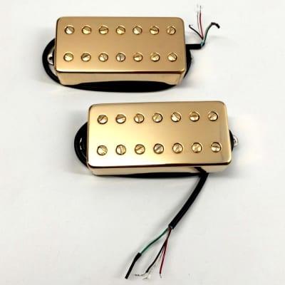 Bare Knuckle Juggernaut Misha Mansoor Signature Wide 7-String Humbucker Pickup Set Gold Covers