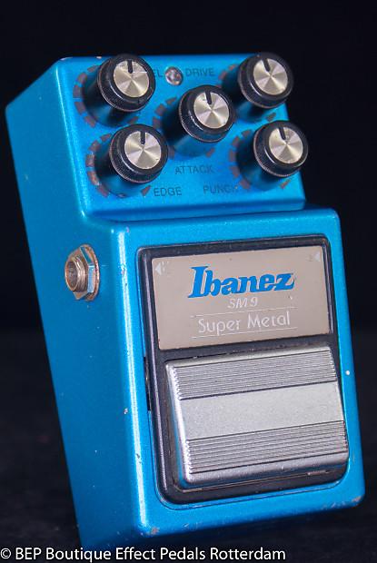 Ibanez SM-9 Super Metal 1984 Japan s/n 424405 with 2x | Reverb