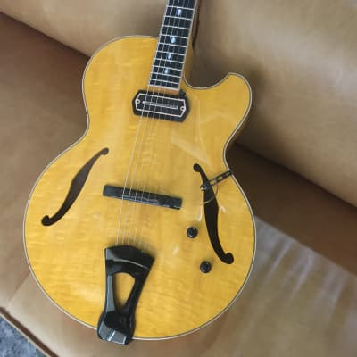 Westville Aruba Crest, made in Japan, laminate archop with a Charlie Christian pickup for sale
