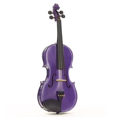 Stentor 1441PPU Harlequin Series 15-Inch Viola Outfit w/Lightweight Case & Wood Bow