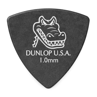 Dunlop 572R100 Gator Grip Small Triangle 1mm Guitar Picks (36-Pack)