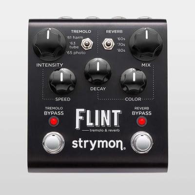 Strymon Flint Tremolo & Reverb Pedal - Black Knob