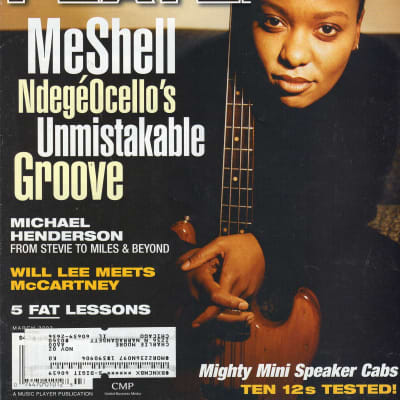 Bass Player 2002 MeShell NdegeOcello John Paul Jones Michael Henderson The Damned Patricia Morrison