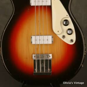Micro-Frets Signature Bass early 1970's Sunburst for sale