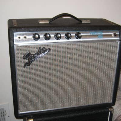 1969 Fender Princeton amplifier - classic Sixties tube amp, in Excellent condition! for sale