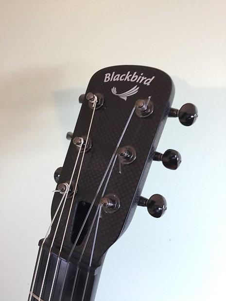 blackbird lucky 13 custom carbon fiber nylon string guitar reverb. Black Bedroom Furniture Sets. Home Design Ideas