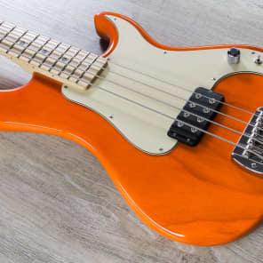 G&L Kiloton-ORG with Maple Fretboard Orange