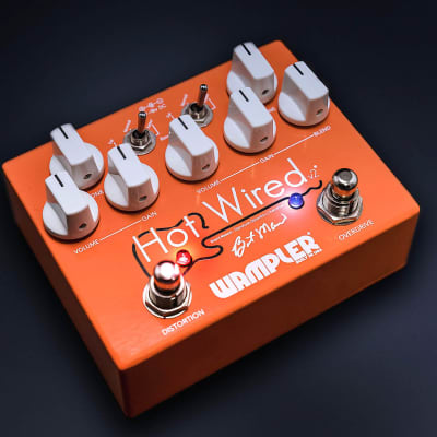  Mint-In-Box - Wampler Brent Mason Signature Hot Wired v2 Overdrive/Distortion Pedal Hotwired