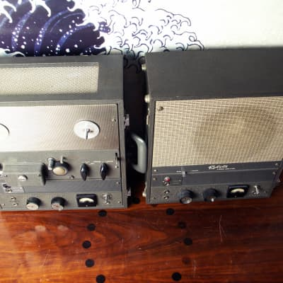 Roberts A-901 1x8 & 90-S 6x4 VinTaGe Combo Tube AmpS   Serviced   FreeUPS for sale