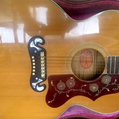 1963 Gibson J-200 natural blonde original hardcase vintage