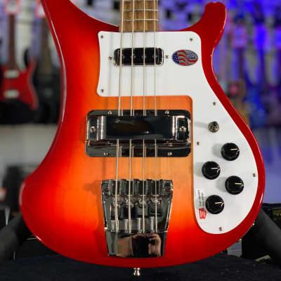 2021 NEW Rickenbacker 4003S Fireglo 4-String Bass Guitar   OHSC + Free Ship, 4003 S Auth Dlr 710