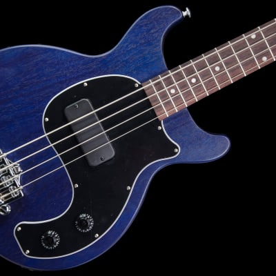 Gibson Les Paul Junior Tribute DC Bass 2019 Blue Stain w/ gigbag   double cutaway for sale