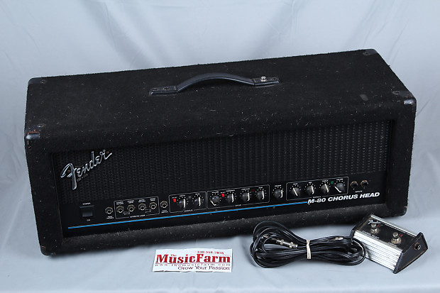 used fender m80 160 watt made in usa electric guitar amp head reverb. Black Bedroom Furniture Sets. Home Design Ideas