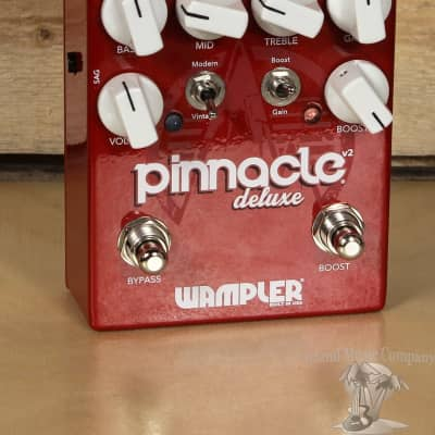 """Wampler Pinnacle Deluxe V2 Effects Pedal """"Excellent Condition"""""""