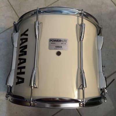 "Yamaha Power-Lite 13"" x 12"" Marching Snare Drum MS6113U White"