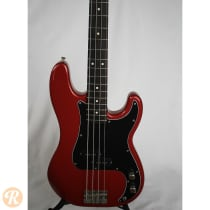 Fender Standard Precision Bass 1989 Crimson Red Metallic image