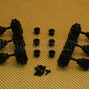 WJ-44-3B  Wilkinson 3x3 Black Vintage Tuners for Gibson/Epiphone Les Paul SG