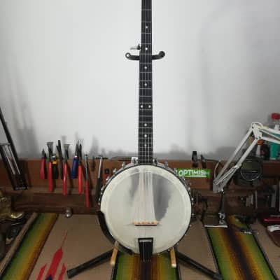 Ode Longneck Banjo 1960s Natural for sale