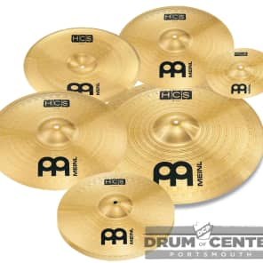 Meinl HCS Cymbal Set - 10S, 14H, 16/18C, 18CH, 20R