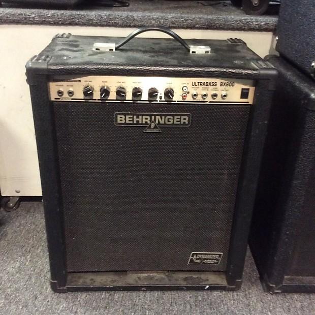 Behringer Ultrabass Bx600 Bass Amp 60 Watts