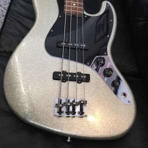 Fender American Designer Edition Jazz Bass Silver Sparkle 2001