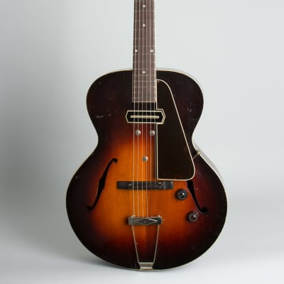 Gibson  ES-150 Arch Top Hollow Body Electric Guitar (1939), ser. #EGE-5797, original tweed hard shell case. for sale