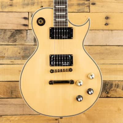 Vintage V100-MP Reissued Series Single Cut with Gold Hardware 2010s Natural Maple Gloss
