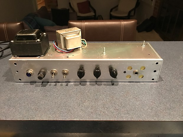 HomeBrew Electronics CHAMP AMP CL0NE CHASSIS 2016 SILVER