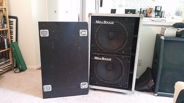 Mesa Boogie Road Ready 215 2x15 Bass Cab Reverb