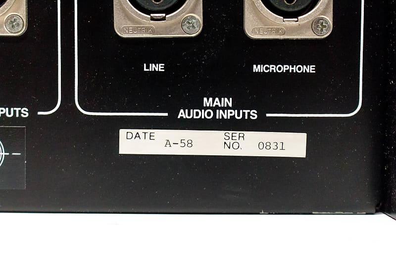 DBX 700 Digital Audio Processor ADC / DAC Combination Unit   Reverb