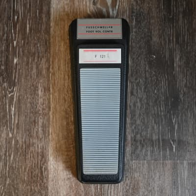(5329) Schaller F121 Fusschweller Volume Pedal for sale