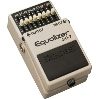 BOSS GE-7 Graphic Equalizer Effect Pedal for sale