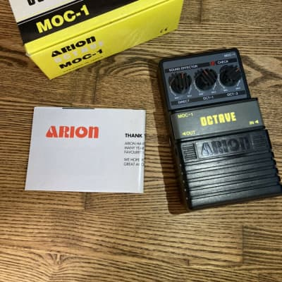 Arion MOC-1 Octave Guitar Effect Pedal with Box for sale