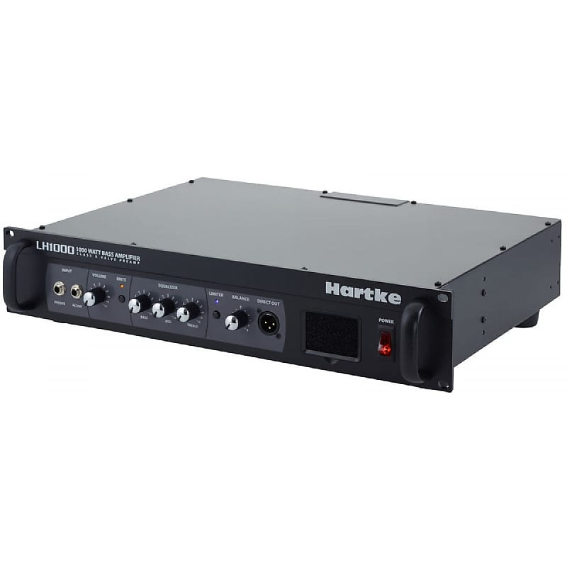 hartke lh1000 1000 watt bass guitar amplifier head class a reverb. Black Bedroom Furniture Sets. Home Design Ideas
