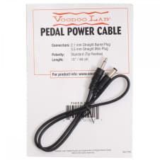 Voodoo Labs Accessories PPMIN 3.5mm Jack Straight Plug Power Cable