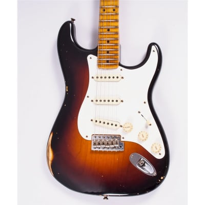 Fender Custom Shop LTD '56 Stratocaster, Heavy Relic, Wide Fade 2 Tone Sunburst for sale