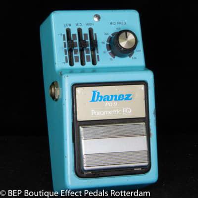 Ibanez PQ-9 Parametric EQ 1981 s/n 152104 Japan