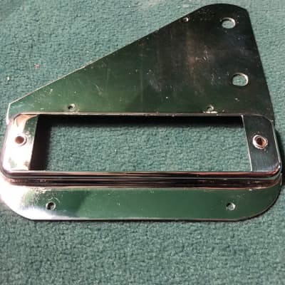 Rickenbacker Lap Steel Pickup Surround Control Plate 1950s Chrome
