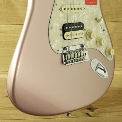 Fender American Professional Strat Ltd Edition HSS Strat Rose Gold Solid Rosewood Neck ~ Secondhand
