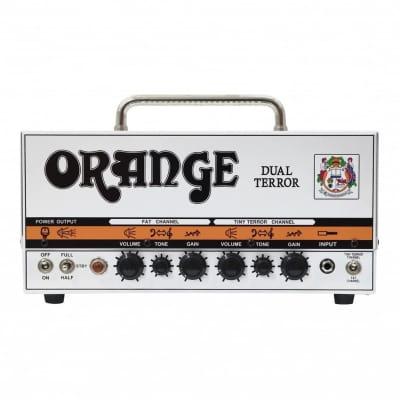 Orange Dual Terror DT30H Guitar Amplifier Head (30 Watts), With Free Orange Amp Bag for sale